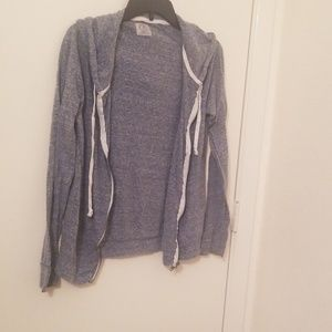 American Eagle Large size zip down shirt